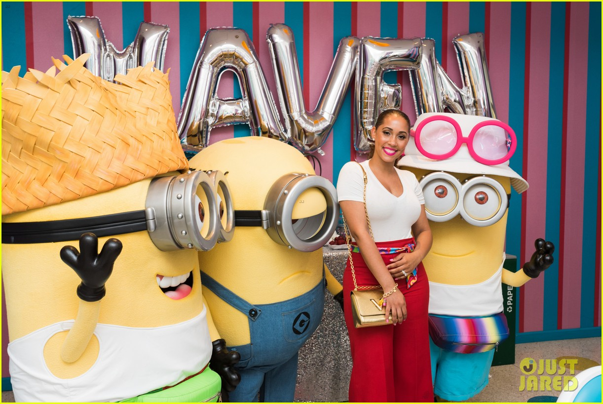 tracy morgans daughter celebrates birthday with minions 123922579