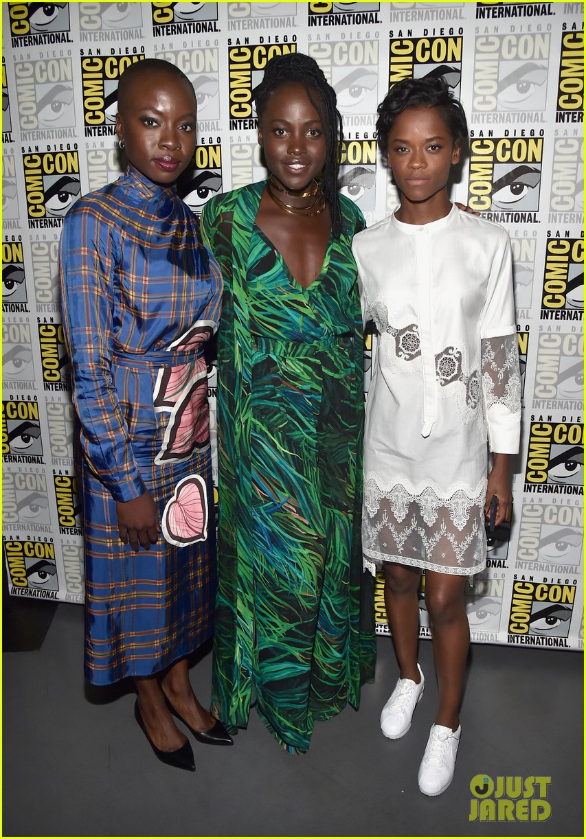 black panther cast debuts new movie poster at comic con 023932448