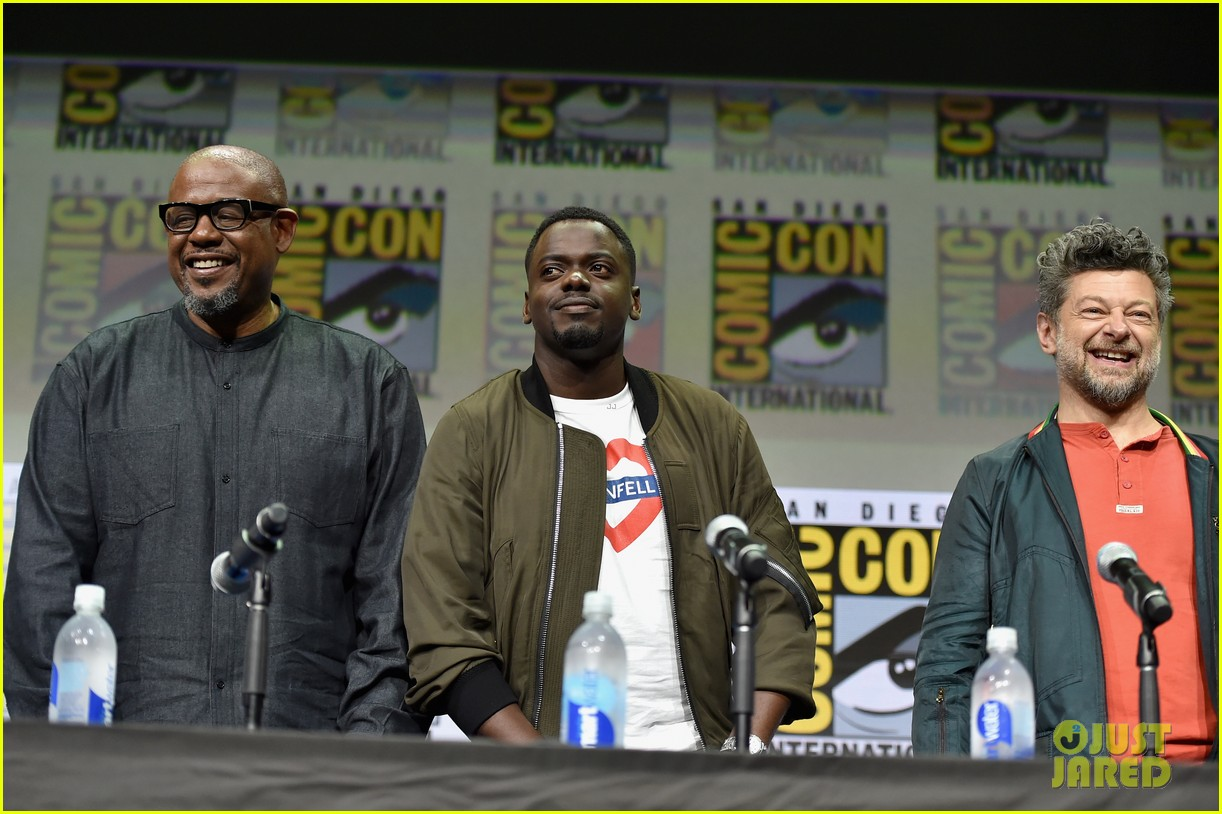 black panther cast debuts new movie poster at comic con 053932451