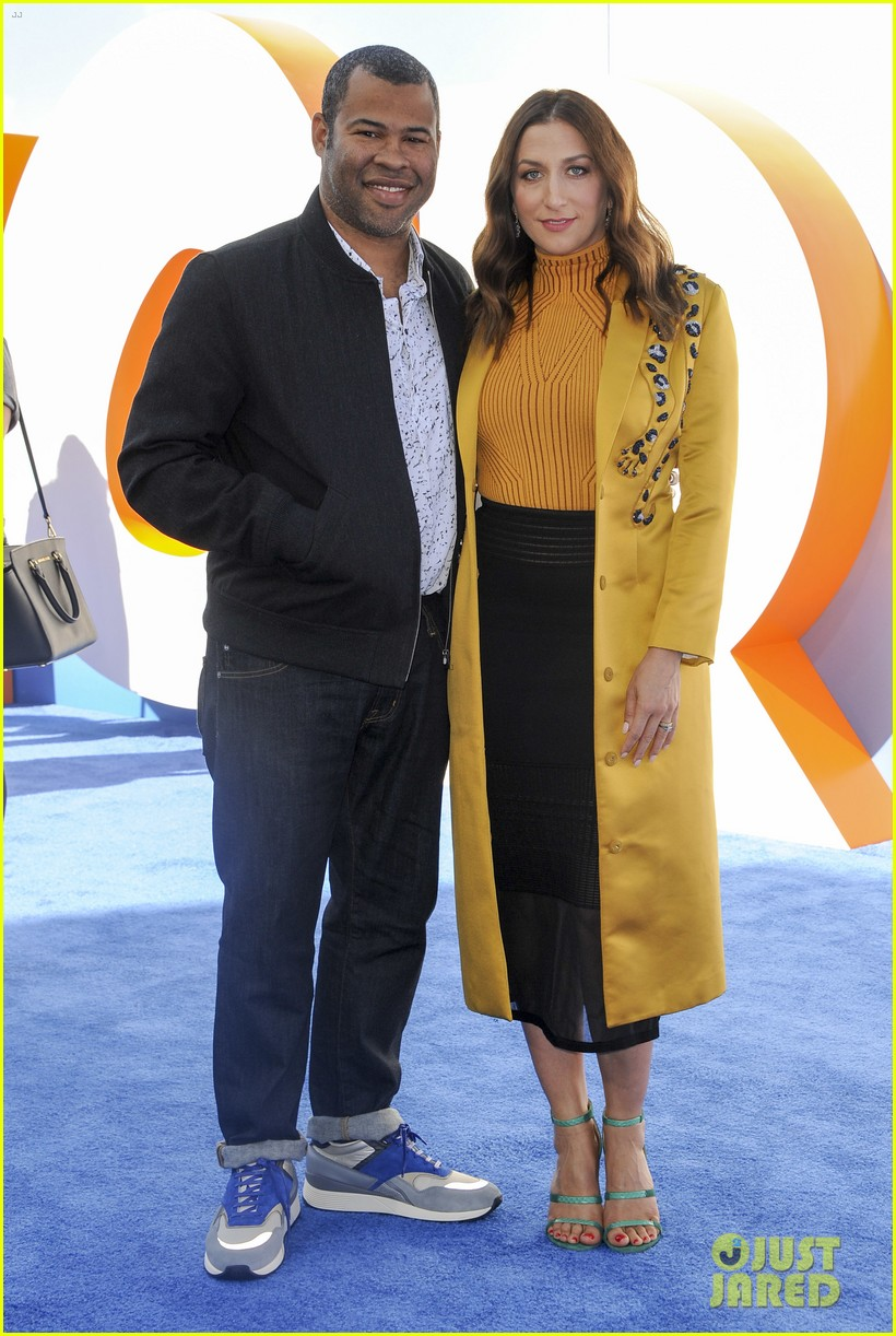 Jordan Peele Chelsea Peretti Welcome First Child Photo 3929377 Baby Beaumont Peele Birth Celebrity Babies Chelsea Peretti Jordan Peele Pictures Just Jared