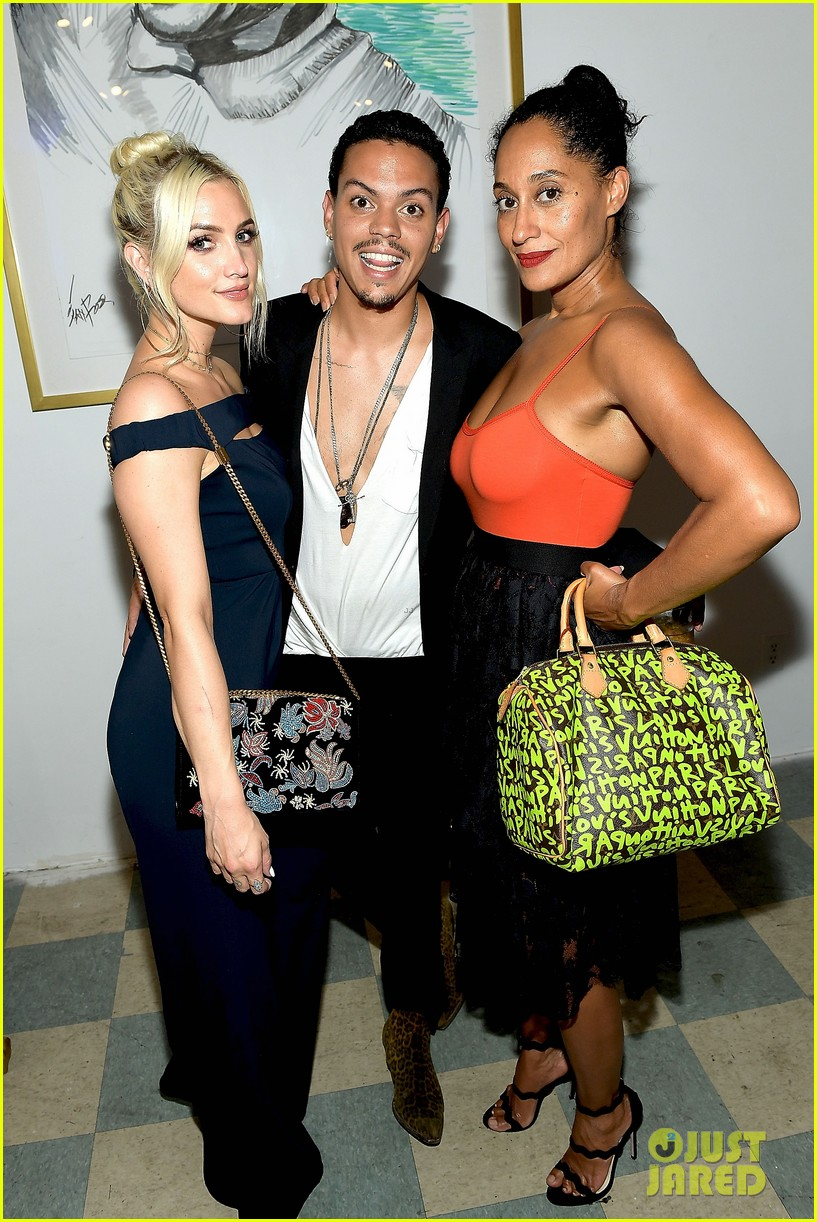 ashlee simpson evan ross make art with a cause charity event a family affair 173935019