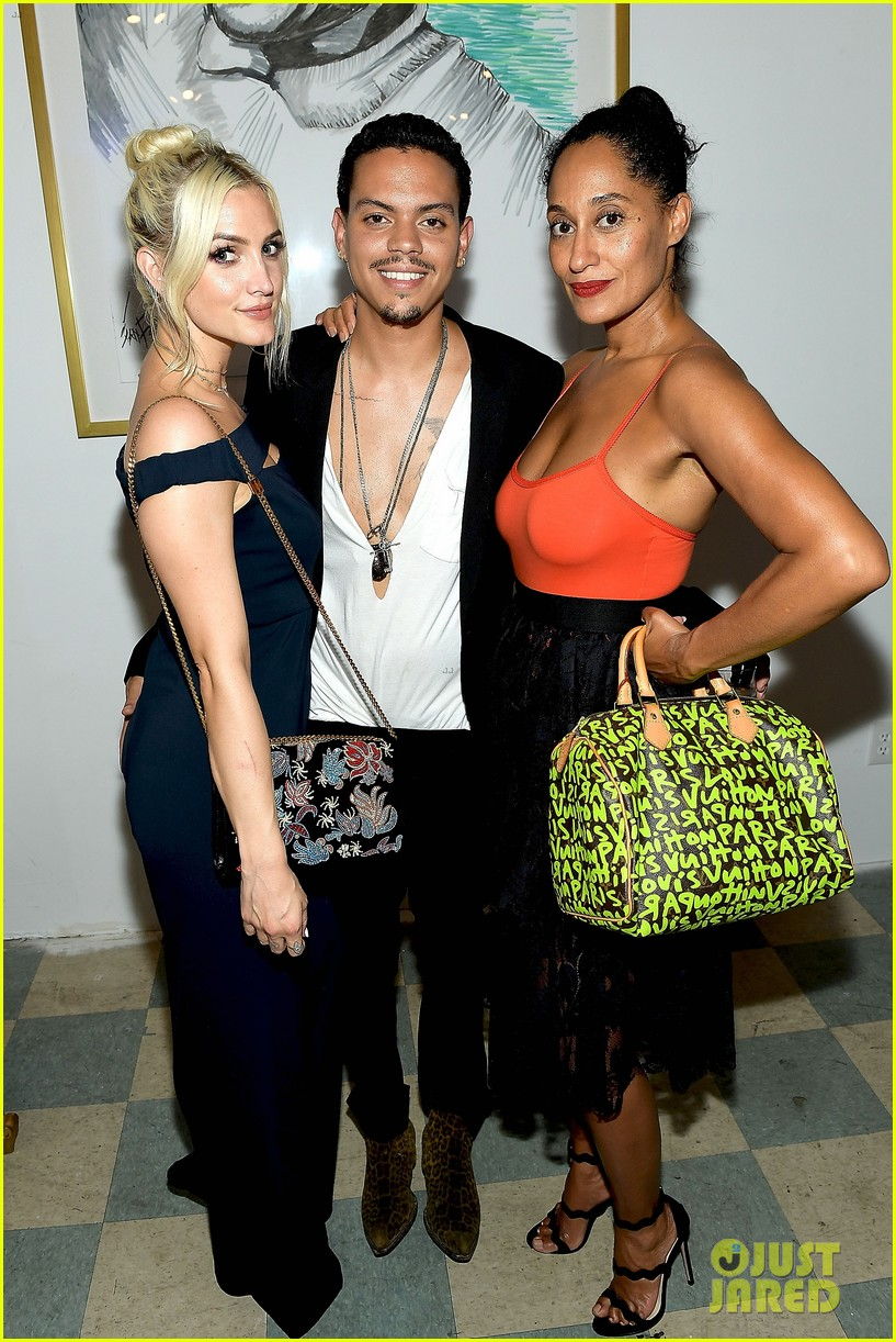 ashlee simpson evan ross make art with a cause charity event a family affair 183935020