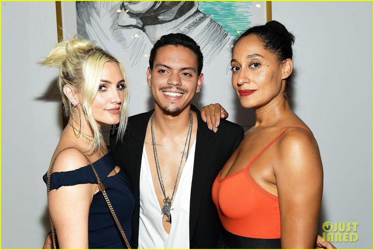 ashlee simpson evan ross make art with a cause charity event a family affair 203935022