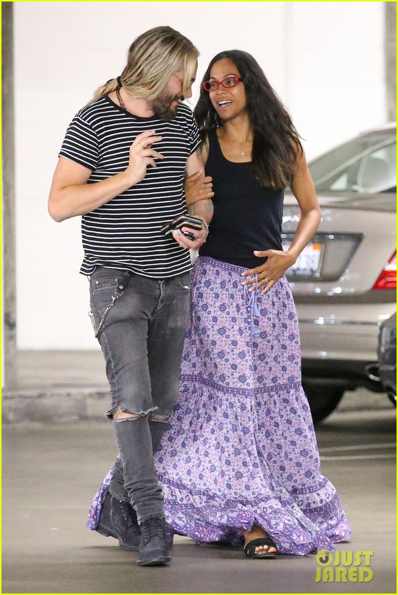 vinny dating zoe saldana Zoe saldana has nothing but praise for her guardians of the galaxy vol  hawn  and russell began dating in 1983 while shooting their.