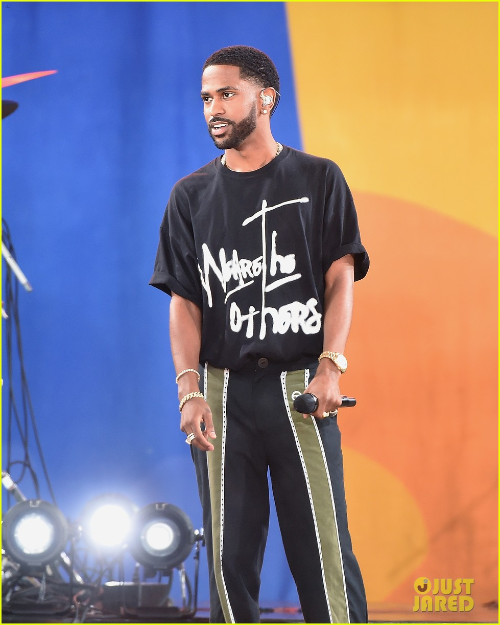 big sean spreads positive message at gma concert 083924861