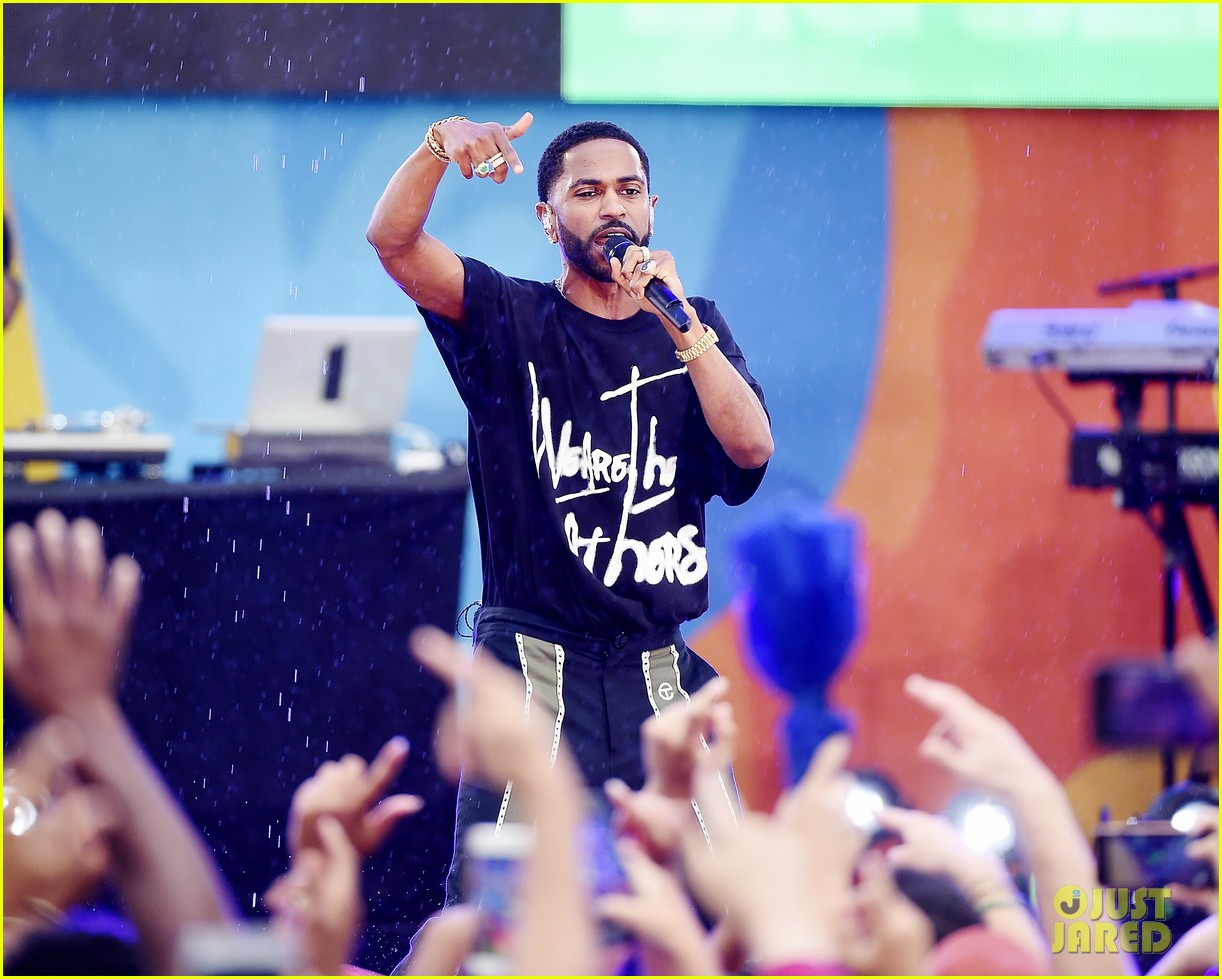big sean spreads positive message at gma concert 103924863