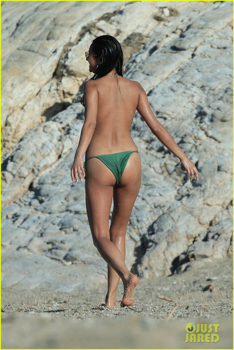 shay mitchell goes topless at the beach in greece 013923561