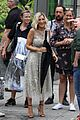 sarah jessica parker films new project with short blonde hair 01