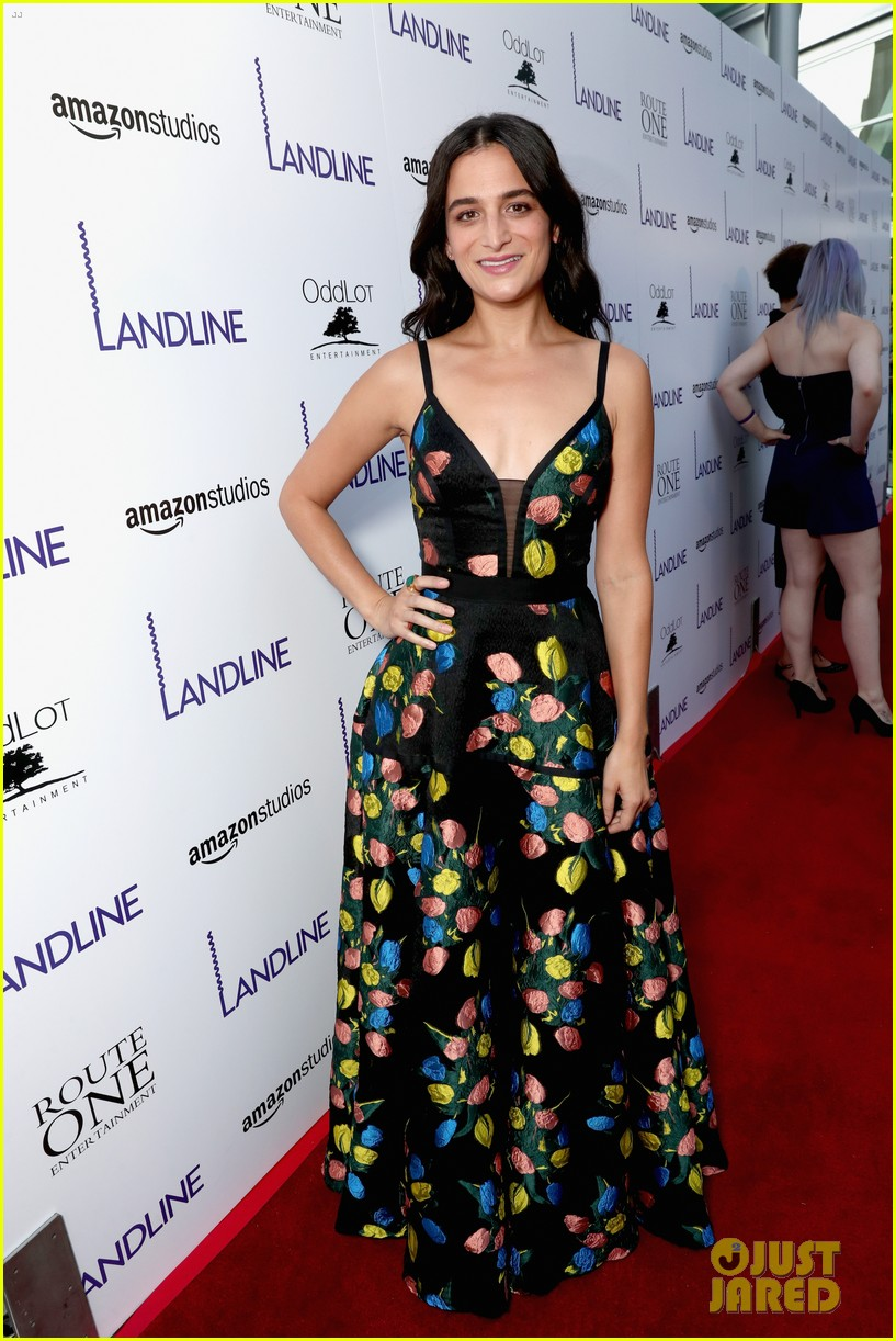 jenny slate gets support from zachary quinto darren criss at landline premiere 043927280