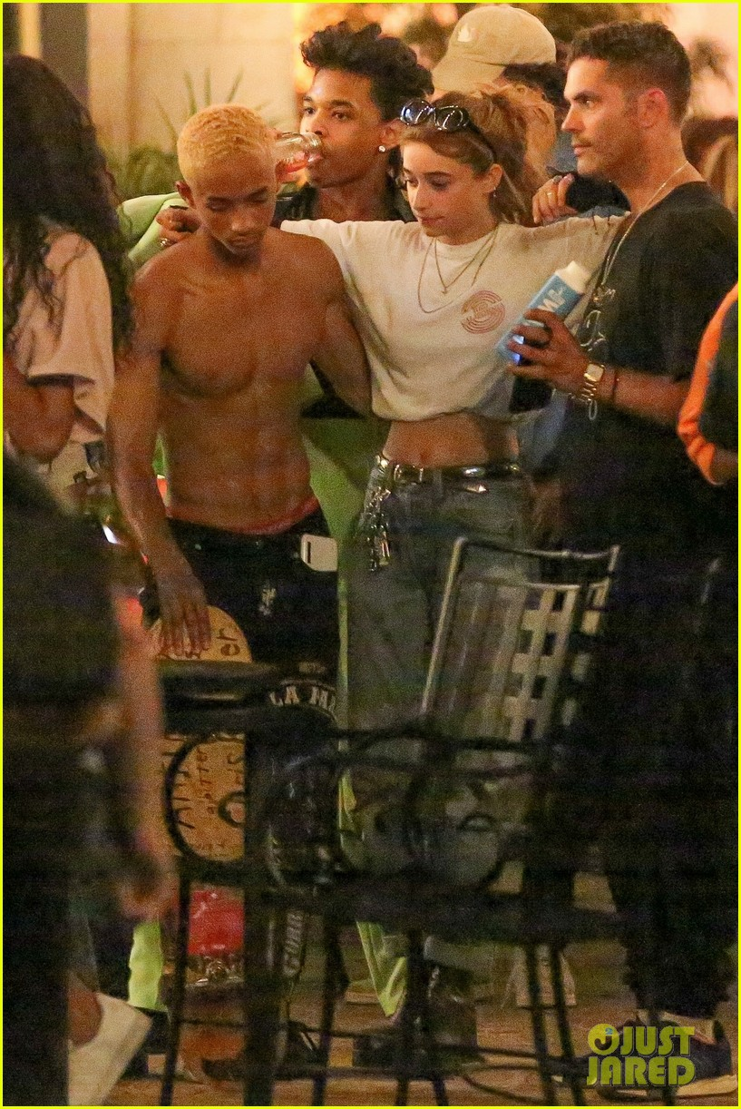 Jaden Smith Goes Shirtless For Birthday Celebration With