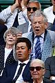 maggie smith ian mckellan get animated at wimbledon 04