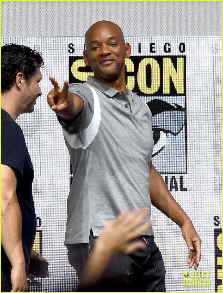 will smith praises netflix at bright comic con 053931058