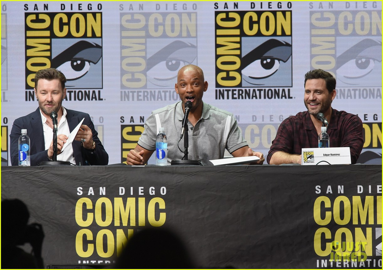 Will Smith Praises Netflix at 'Bright' Comic-Con Panel