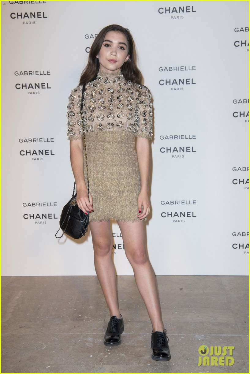 kristen stewart stella maxwell coordinate at chanels gabrielle perfume launch 073923681