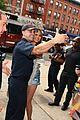 chrissy teigen delivers mcdonalds meals to firefighters 12