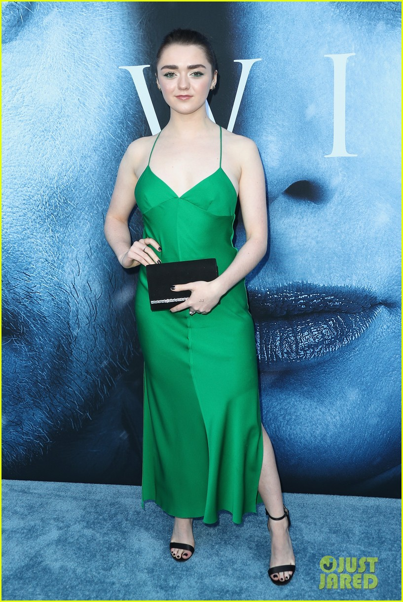 Sophie Turner Joins Maisie Williams At The Game Of