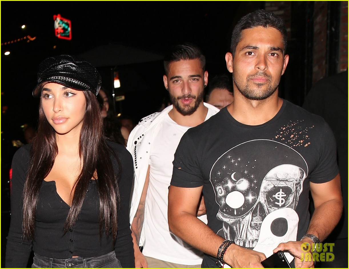 wilmer valderrama and chantel jeffries have night out at tao 043929684
