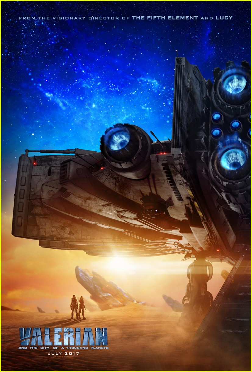 is there a valerian end credits scene 093930529