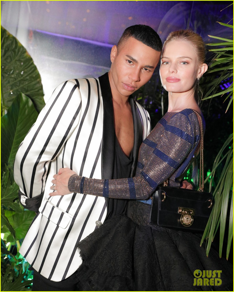 kerry washington kate bosworth more celebrate balmain l a boutique opening 313931224