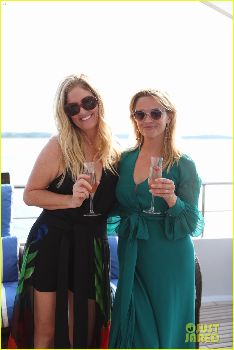 reese witherspoon hops on yacht to celebrate launch of fwrd x haney 053933155