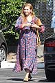amy adams looks stunning while going makeup free in la 05