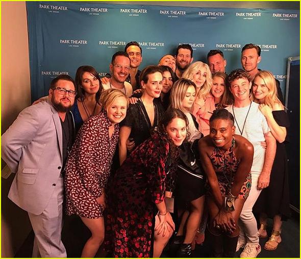 america horror story cult cast attend chers vegas show 043943922