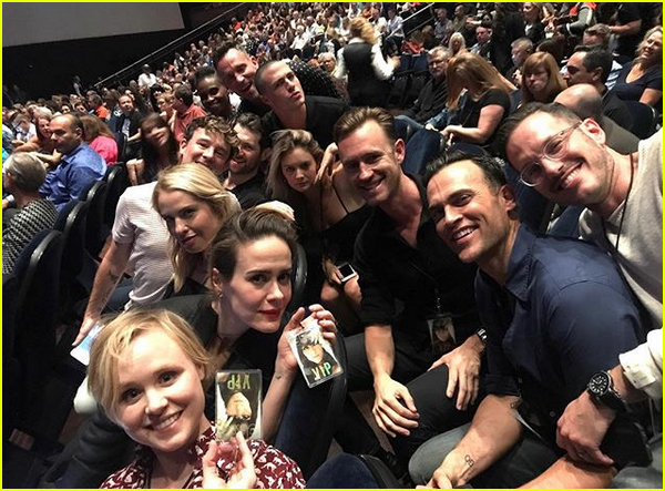 america horror story cult cast attend chers vegas show 073943925