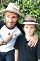 david beckham family selfie was photobombed by jesse tyler fergusons husband 03