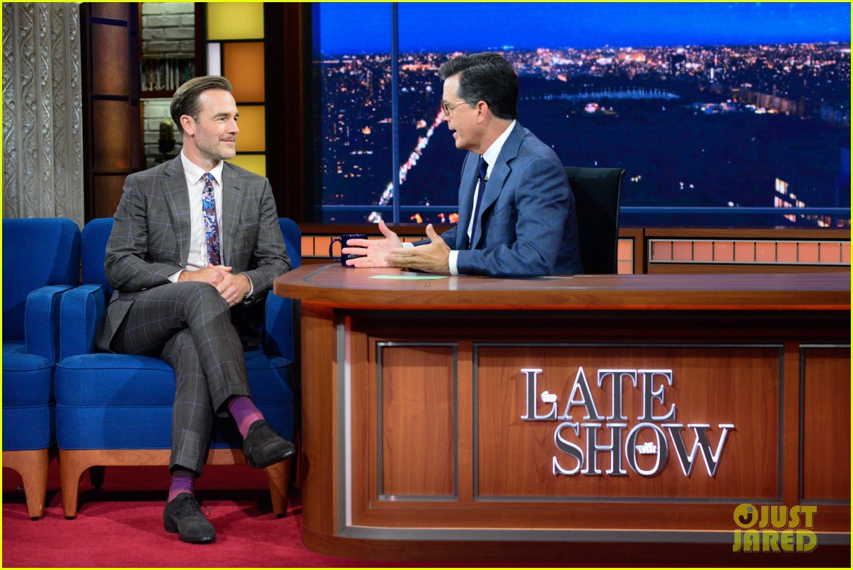 james van der beek explains who diplo is on the late show 013937352