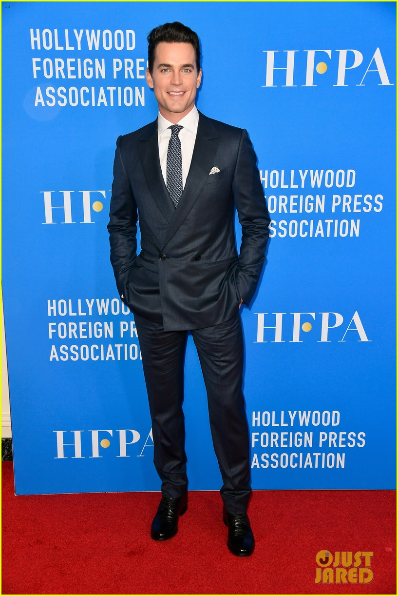 matt rob armie suit up for hollywood foreign press banquet 153937173