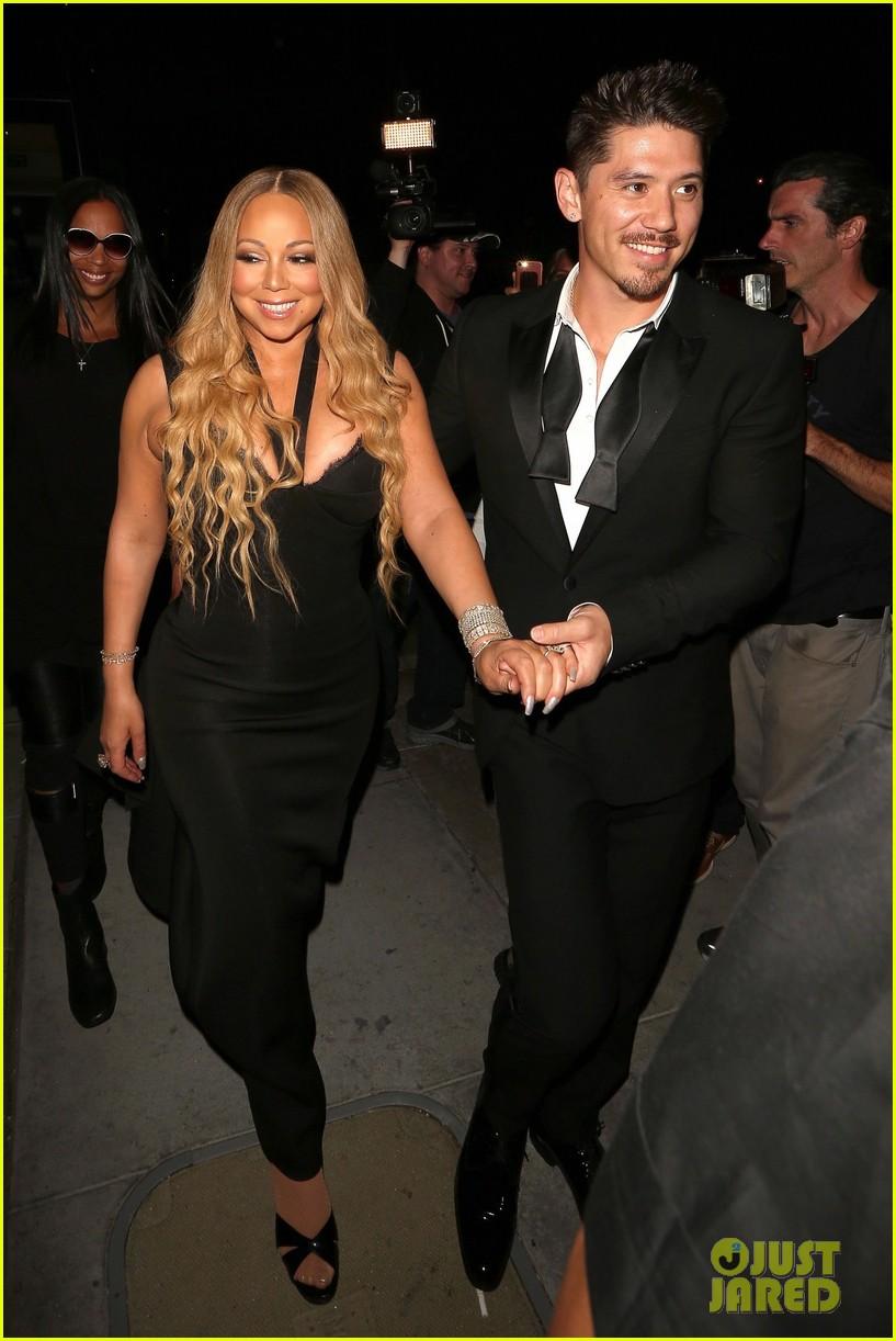 Mariah Carey s Boyfriend Bryan Tanaka Is a Gentleman on Date Night. Mariah Carey s Boyfriend Bryan Tanaka Is a Gentleman on Date Night