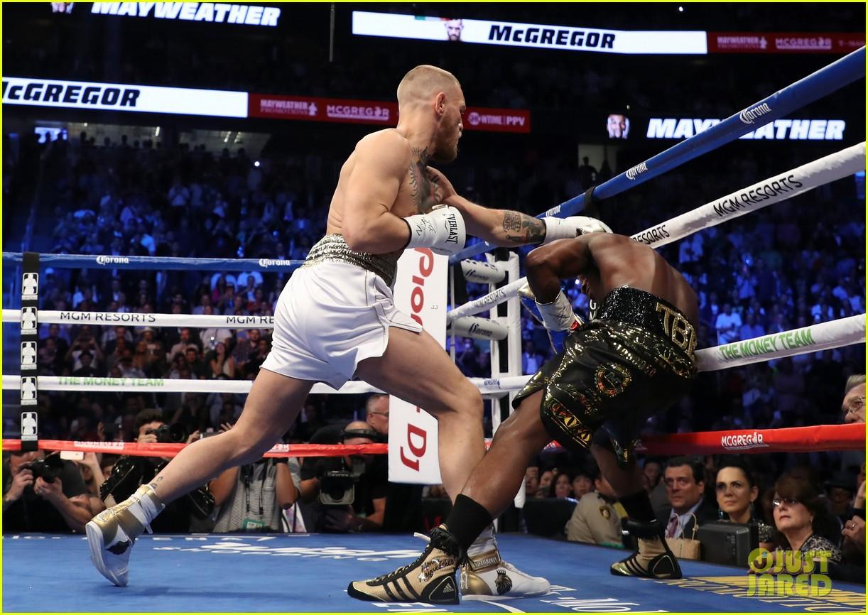celebs react to mayweather beating mcgregor 223946020