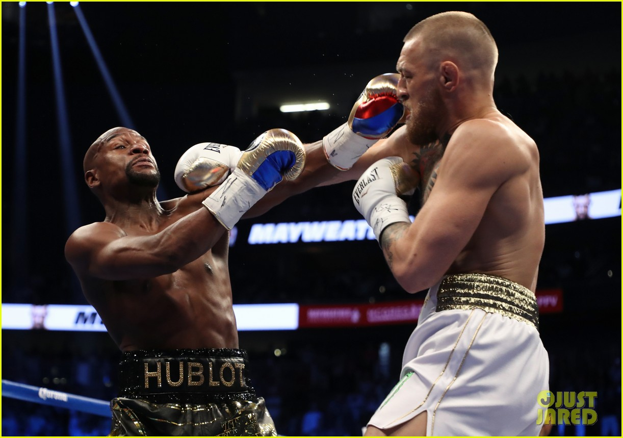 celebs react to mayweather beating mcgregor 253946023