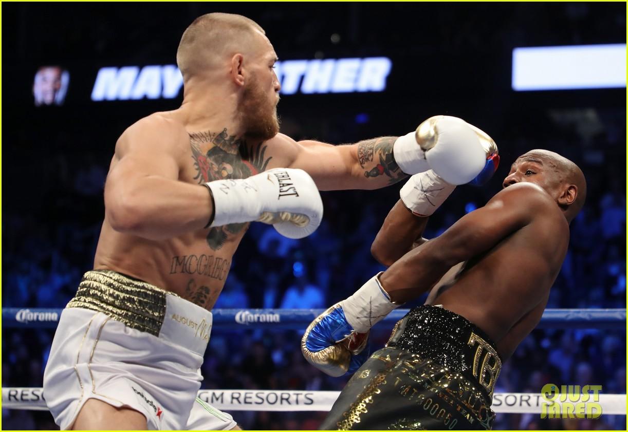 celebs react to mayweather beating mcgregor 263946024