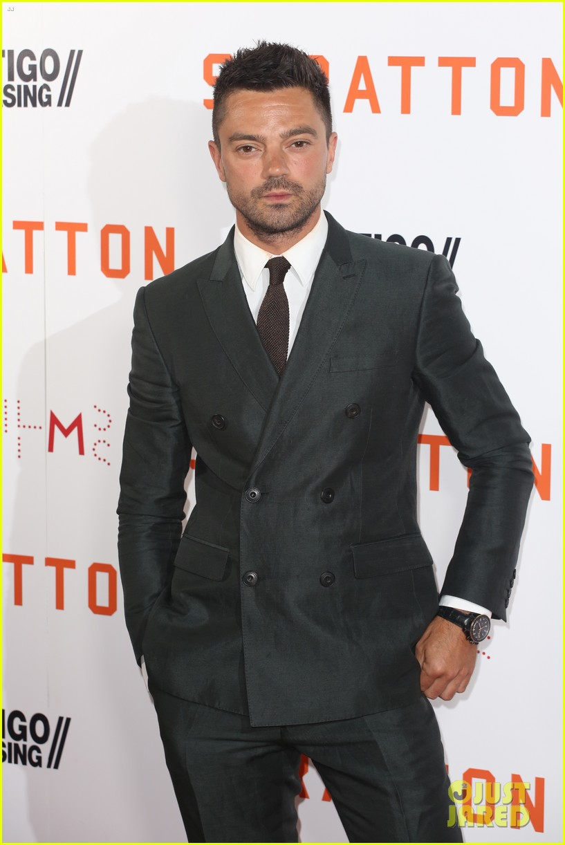 dominic cooper suits up for uk premiere of stratton 033947742