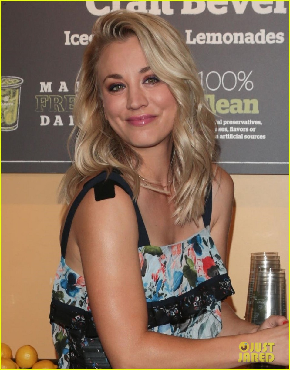 kaley cuoco teams up with panera bread to launch beverage station 073948340