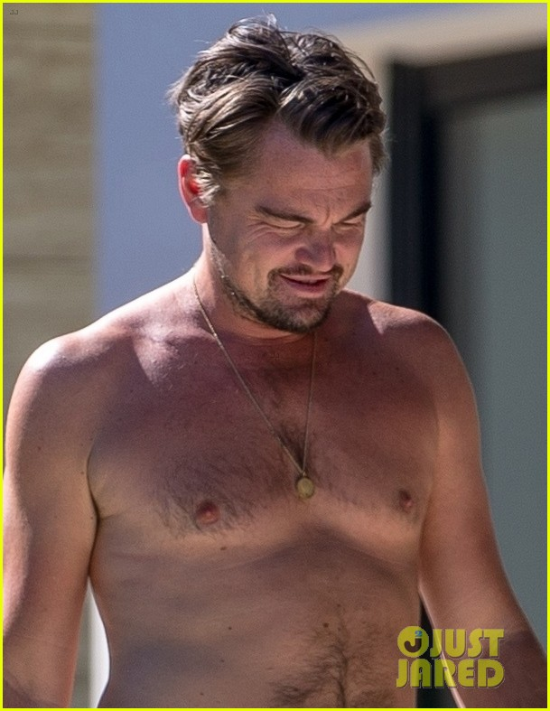 leo dicaprio goes shirtless on vacation with kate winslet 013942787