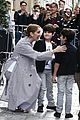 celine dion her twins exit their hotel to a confetti shower 07