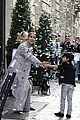 celine dion her twins exit their hotel to a confetti shower 09