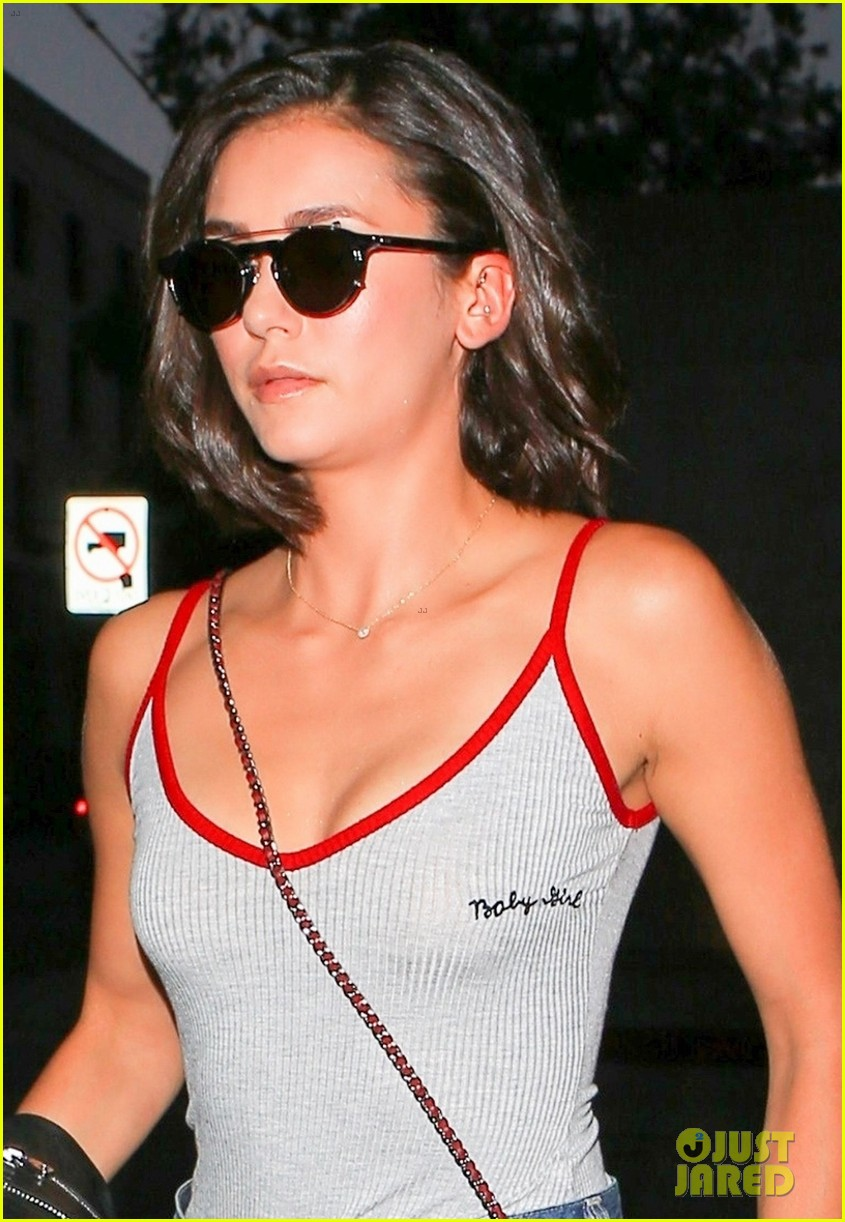nina dobrev keeps it comfy and trendy for night out at craigs 013940876