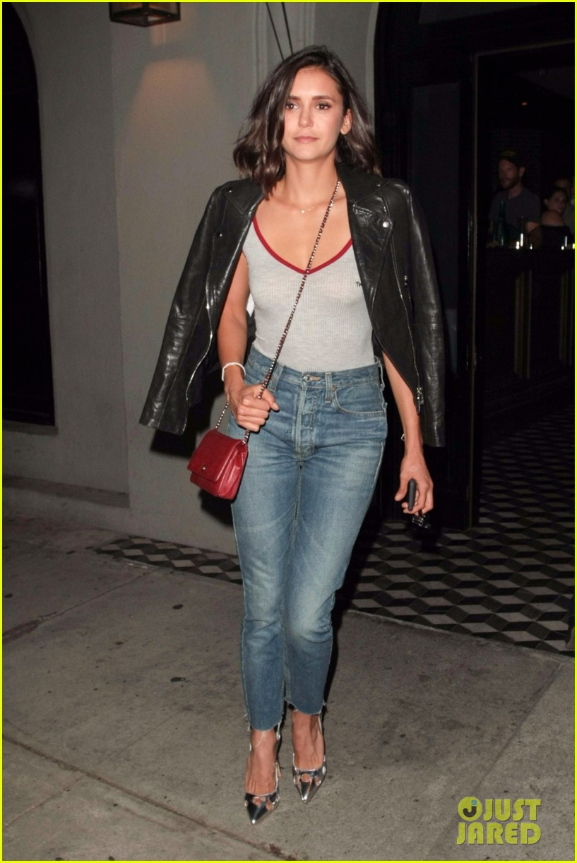 nina dobrev keeps it comfy and trendy for night out at craigs 023940877