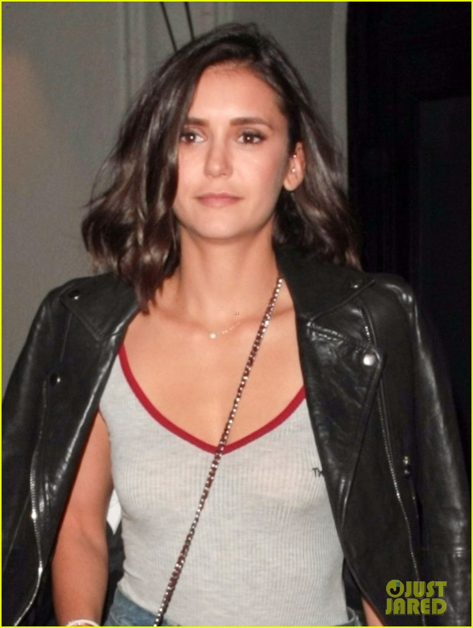 nina dobrev keeps it comfy and trendy for night out at craigs 053940880