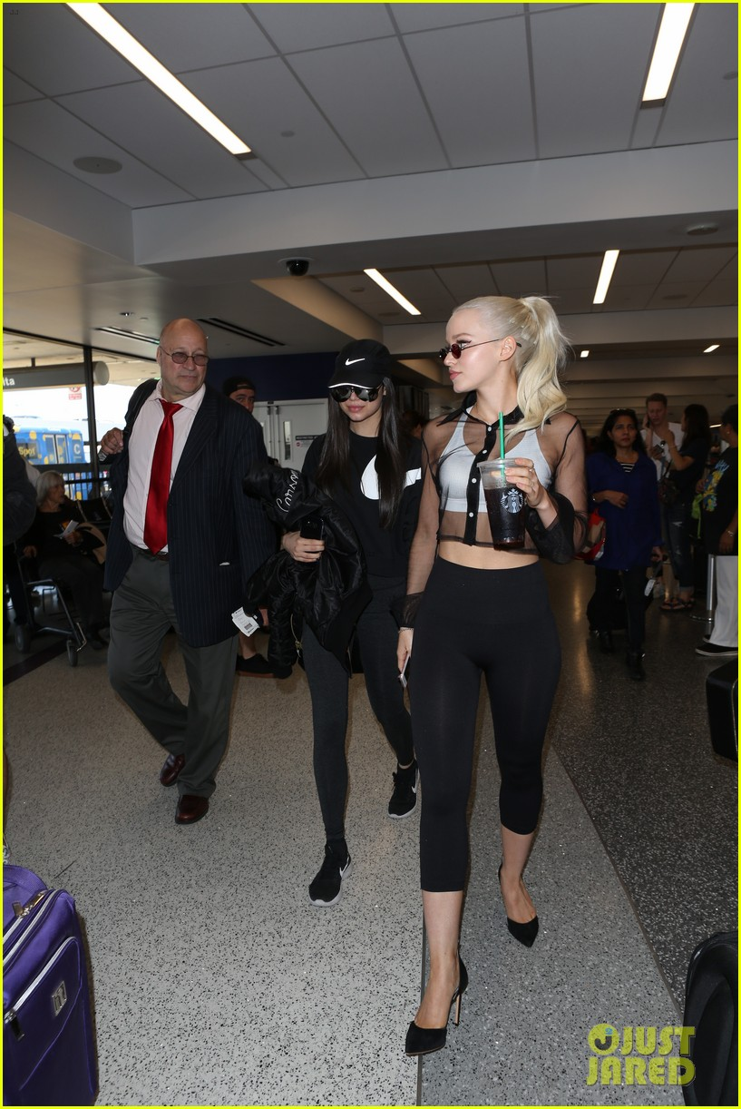 dove cameron is slaying the airport style game right now 033940600