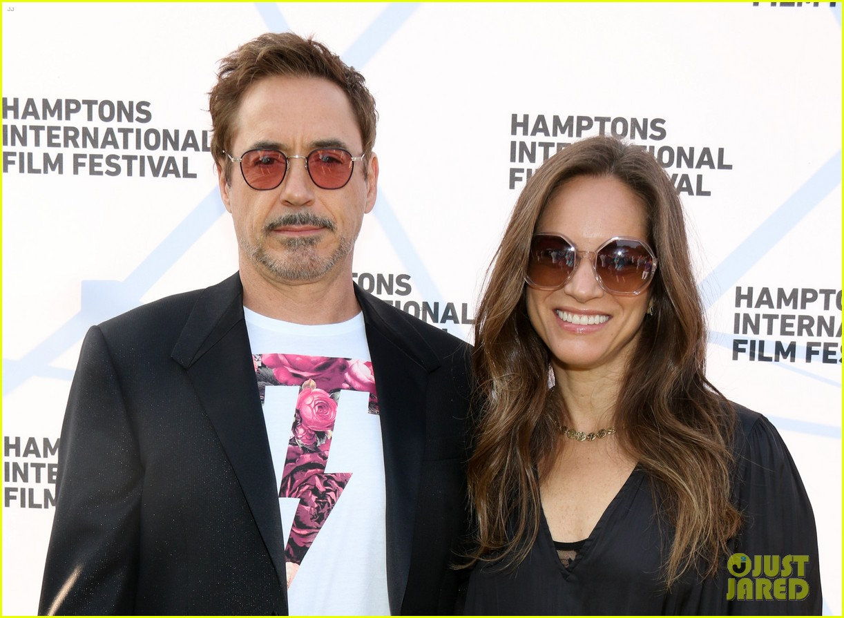 robert downey jr wife susan have date night in the hamptons 053947168