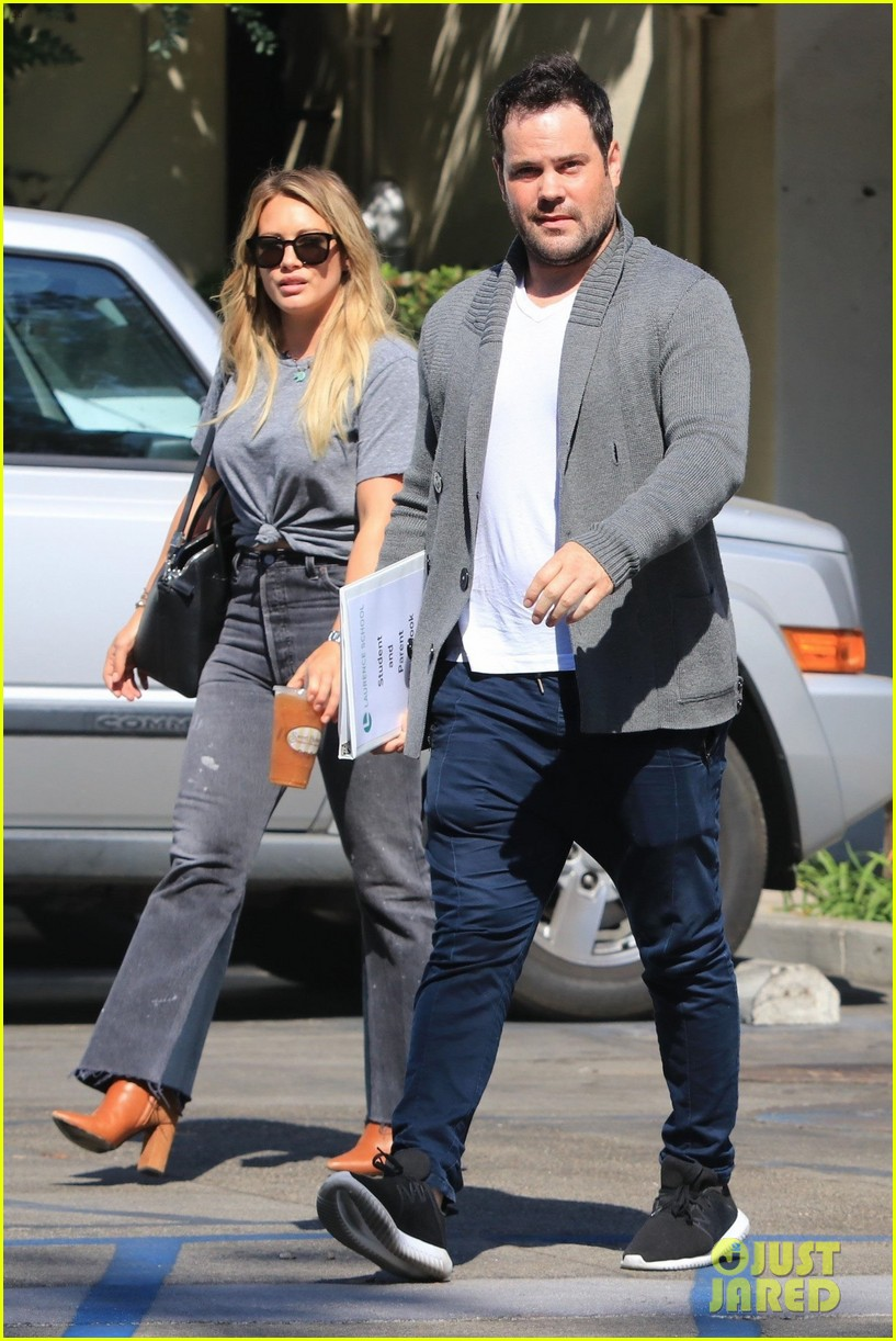 hilary duff ex mike comrie reunite 013948625