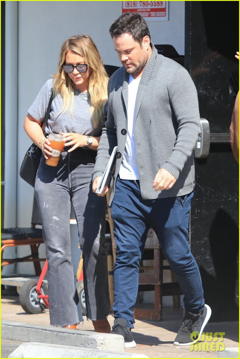 hilary duff ex mike comrie reunite 033948627