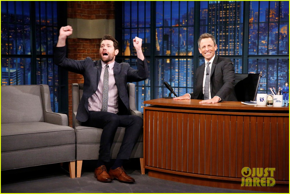 billy eichner tells seth meyers american horror story cult is surreal take on post trump 013939599