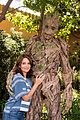 tina fey meets groot at disney california adventure 01