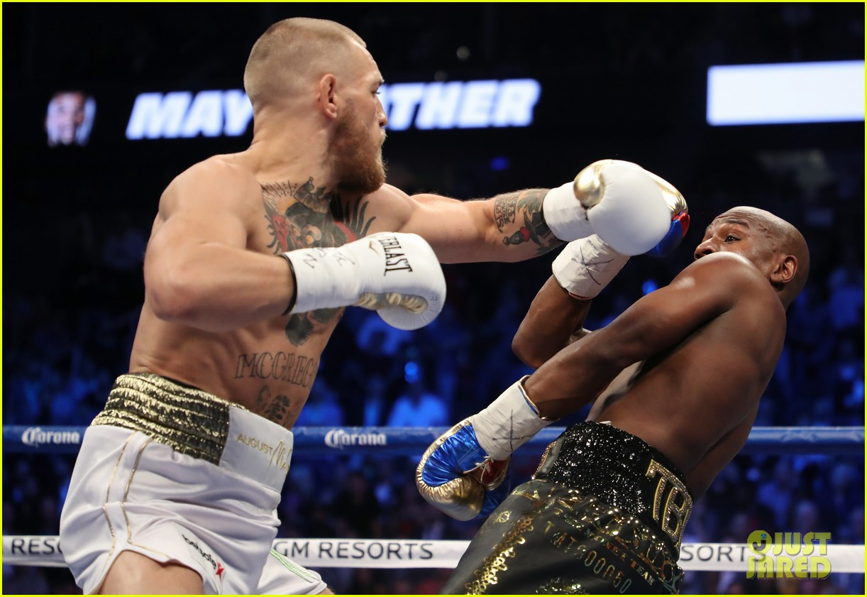 mayweather mcgregor fight