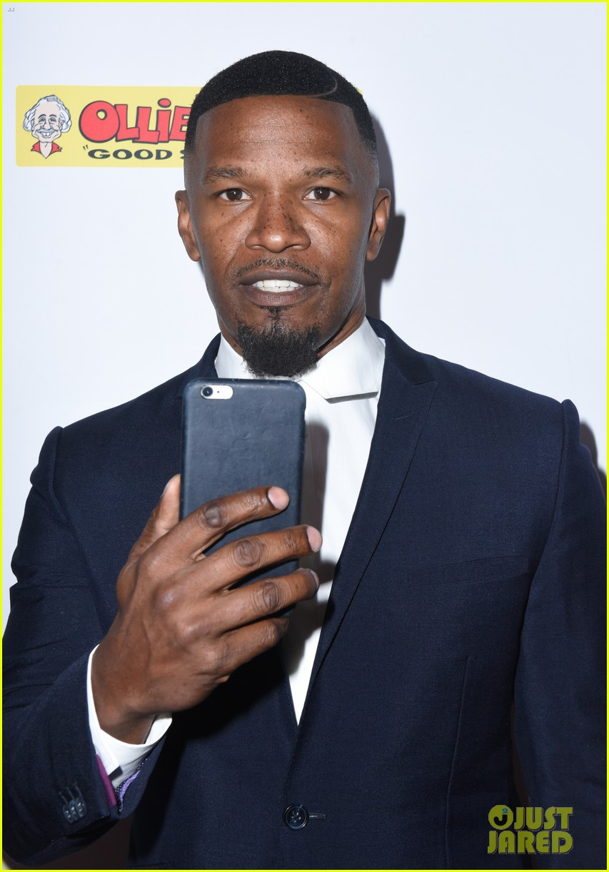 jamie foxx anthony anderson charity event 023941100